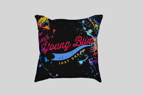 Dream Crazy-Pillow (2 Colors Combos) Black Version, Home - Young Blvd. Apparel, Young Blvd. Apparel  - 2