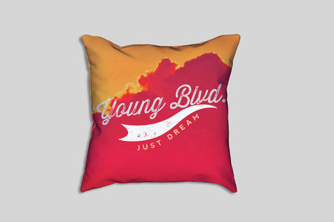 Fever Skies - Pillow , Home - Young Blvd. Apparel, Young Blvd. Apparel