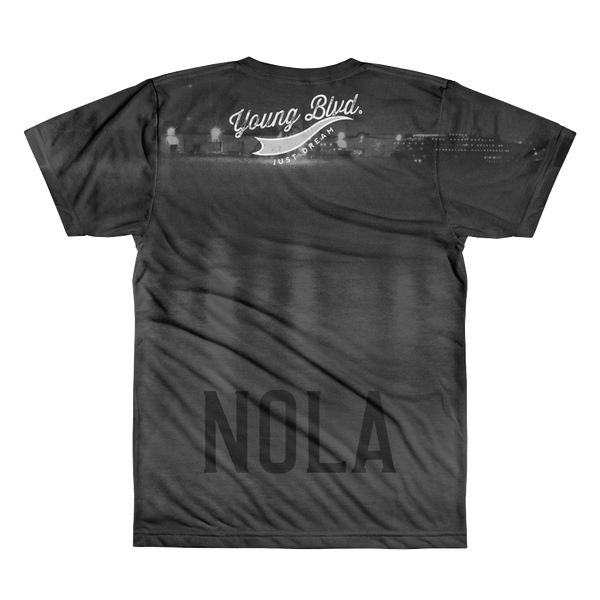 Young NOLA Views AOP Short Sleeve Shirt