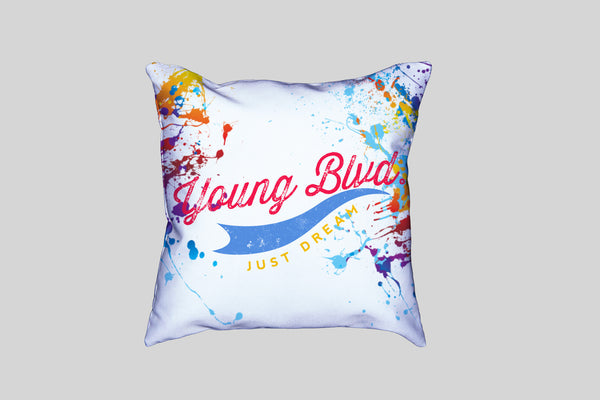 Dream Crazy-Pillow (2 Colors Combos) White Version, Home - Young Blvd. Apparel, Young Blvd. Apparel  - 1