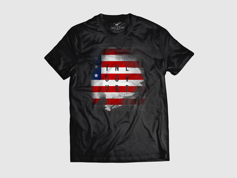 Young Stamp Blast Short Sleeve Shirt (6 Colors) XS / Black/USA, Shirts - Young Blvd. Apparel, Young Blvd. Apparel  - 2