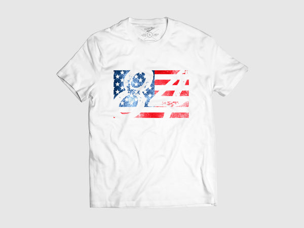 Young USA Short Sleeve Shirt XS, Shirts - Young Blvd. Apparel, Young Blvd. Apparel