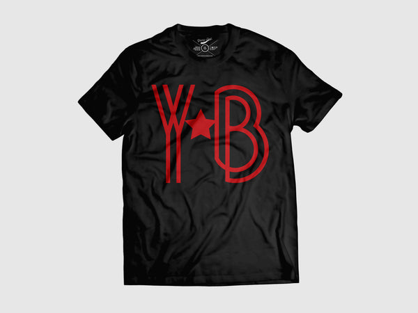 Young YB-a-Star Short Sleeve Shirt (8 Colors) XS / Black/Red, Shirts - Young Blvd. Apparel, Young Blvd. Apparel  - 9