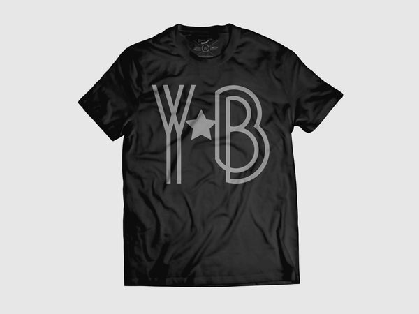 Young YB-a-Star Short Sleeve Shirt (8 Colors) XS / Black/Grey, Shirts - Young Blvd. Apparel, Young Blvd. Apparel  - 13