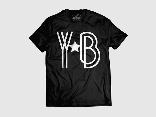 Young YB-a-Star Short Sleeve Shirt (8 Colors) XS / Black/White, Shirts - Young Blvd. Apparel, Young Blvd. Apparel  - 1