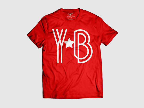 Young YB-a-Star Short Sleeve Shirt (8 Colors) XS / Red/White, Shirts - Young Blvd. Apparel, Young Blvd. Apparel  - 5