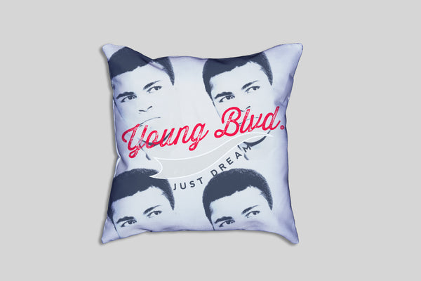 The Dreamer's Champion Ali -Pillow , Home - Young Blvd. Apparel, Young Blvd. Apparel