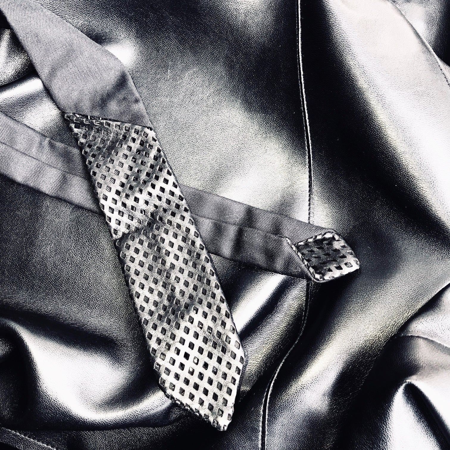 men's black wool tie buy online