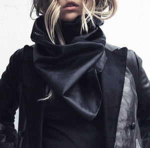 women's leather scarf buy online