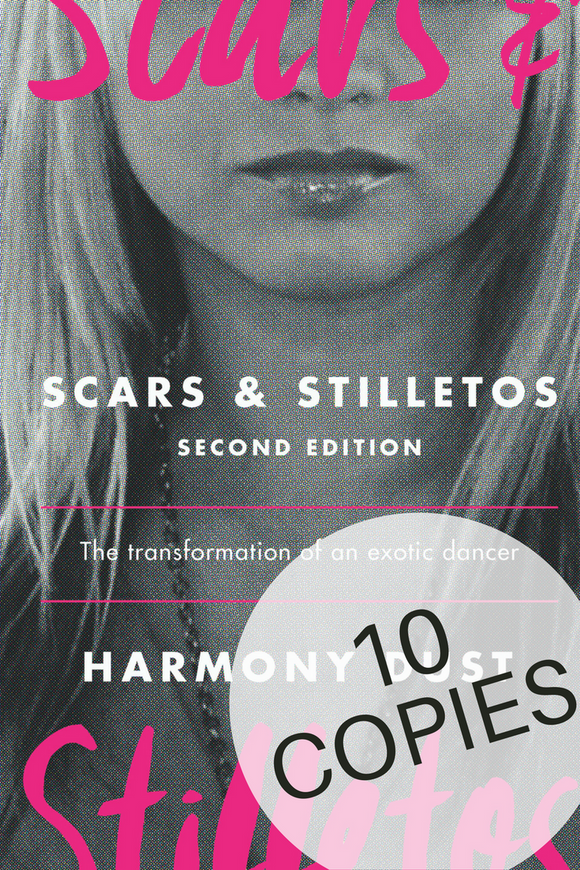 Scars & Stilettos 2nd Edition- 10 Copy Set