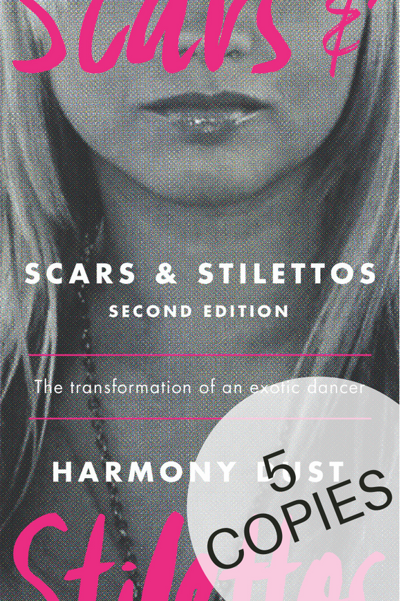 Scars & Stilettos 2nd Edition- 5 Copy Set