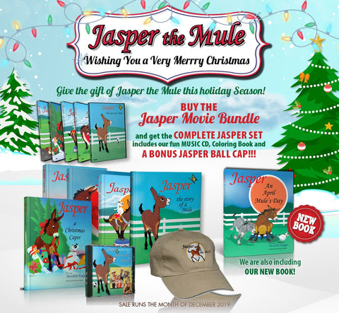 DECEMBER SALE! Buy the Jasper Movie Bundle and get the Complete Set!