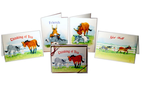 Jasper Greeting and Sympathy Card Set (4-Pack)