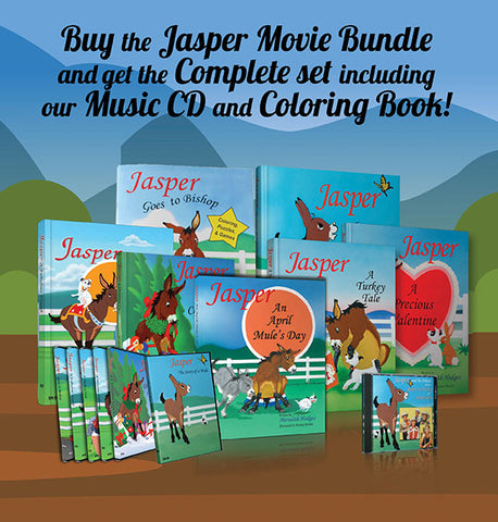 SEPTEMBER SALE! Complete Jasper Bundle for the Price of the Movie Bundle