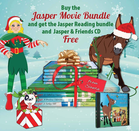 CHRISTMAS SALE! Jasper Movie and Reading Bundle