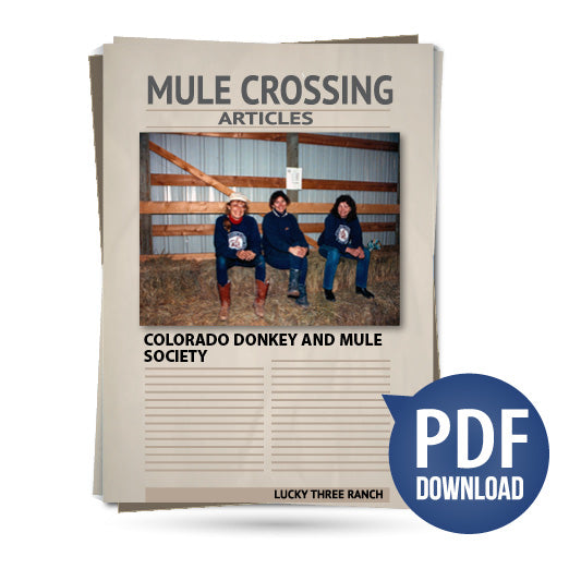 Colorado Donkey and Mule Society