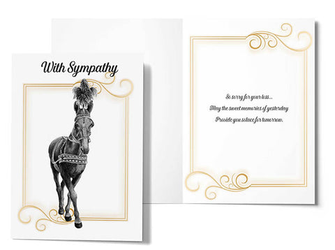 Sympathy Cards: 4-Pack