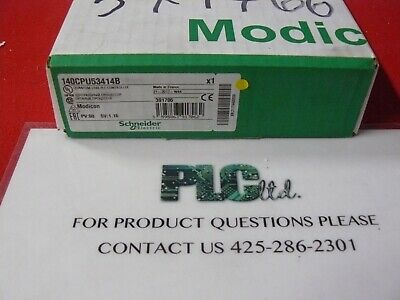 140CPU53414B Brand New Schneider Electric Modicon CPU 140-CPU-534-14B