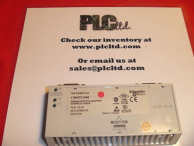 170INT11000 Modicon Momentum Processor 170-INT-110-00