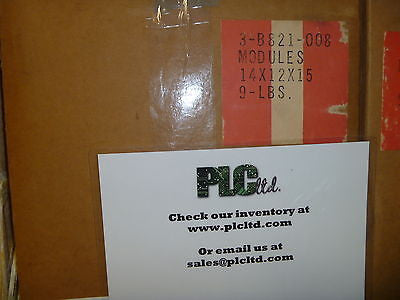 ASB821008 NEW UNIT  Modicon Gould 10-60 VDC Input Module AS-B821-008