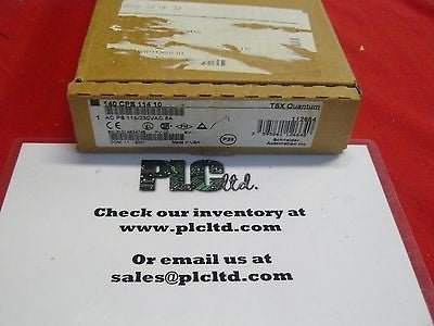 140CPS11410 NEW FACTORY SEALED! Modicon Quantum 140-CPS-114-10 Pwr Sply