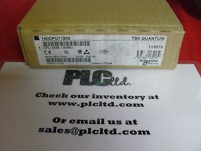 140CPU11302 NEW SEALED Modicon Quantum CPU 140-CPU-113-02
