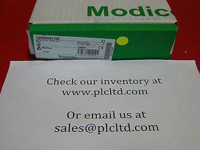 140DDI84100 BRAND NEW! Modicon DC IN 140-DDI-841-00