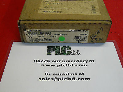 170AAI52040 NEW SEALED! Modicon Momentum Analog Base 170-AAI-520-40