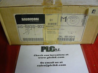 ASB838032 NEW SEALED Modicon 800 Series Module AS-B838-032