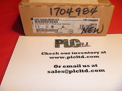 AS-BDEP-215 NEW FACTORY SEALED Modicon INPUT MODULE 16 POINT 5V TTL ASBDEP215