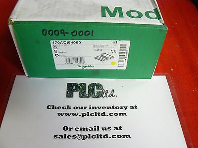 170ADI54050 NEW Modicon 120 VAC I/O Base 170-ADI-540-50