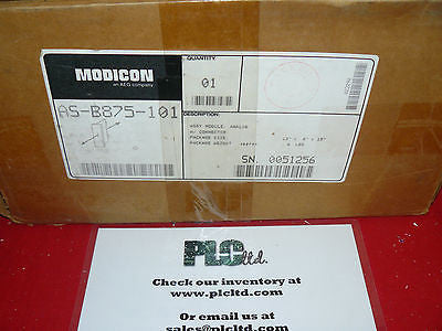 ASB875101 BRAND NEW! Modicon Analog INPUT Module AS-B875-101