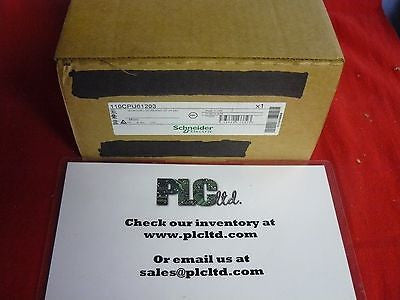 110CPU61203 BRAND NEW FACTORY SEALED! Modicon Micro 110-CPU-612-03