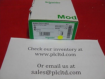 BMXDDI1602 BRAND NEW Schneider Electric Modicon BMX-DDI-1602