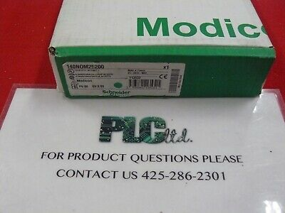 Modicon 140NOM25200 New Factory Sealed Network 140-NOM-252-00