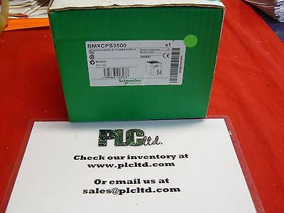BMXCPS3500 New Schneider Electric Modicon BMX-CPS-3500