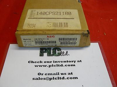 140CPS21100 BRAND NEW Modicon Pwr Sply 140-CPS-211-00
