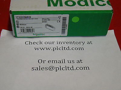 171CCC96020 FACTORY NEW SEALED! Modicon Ethernet CPU 171-CCC-960-20