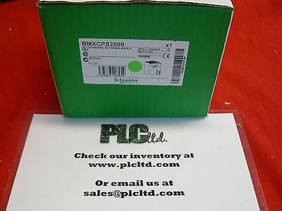 BMXCPS2000 BRAND NEW! Schneider Electric Modicon BMX-CPS-2000