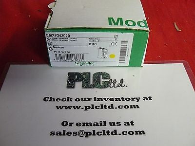 BMXP342020 BRAND NEW Schneider Electric Modicon BMX-P34-2020