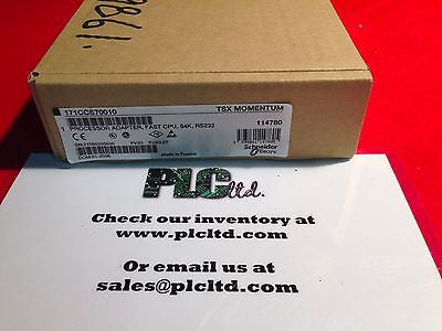 171CCS70010 NEW SEALED Modicon Momentum Processor 171-CCS-700-10