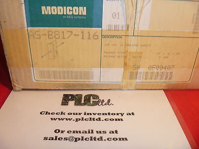AS-B817-116 NEW Modicon ASB817116 Isolated Input Module