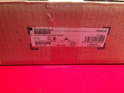 NWBM85Y422 NEW SEALED  Modicon SYMAX BridgeMux NW-BM85Y-422