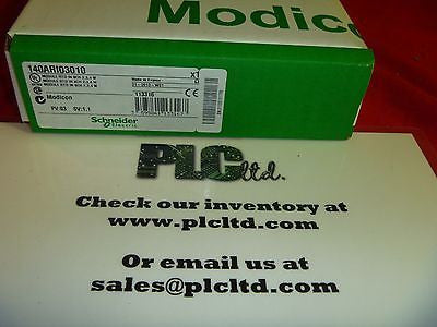 140ARI03010 FACTORY NEW SEALED! Modicon RTD IN 8CH 140-ARI-030-10