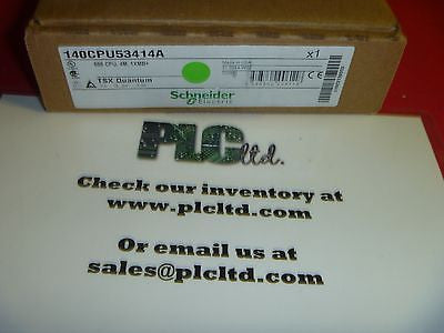 140CPU53414A NEW SEALED! Modicon CPU 140-CPU-534-14A