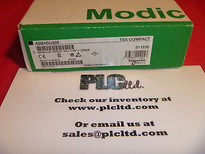 AS-BADU-205 BRAND NEW FACTORY SEALED Modicon Compact Analog Input  ASBADU205