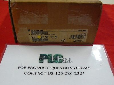 PCE984241 Brand New Modicon / Schneider Compact CPU PC-E984-241