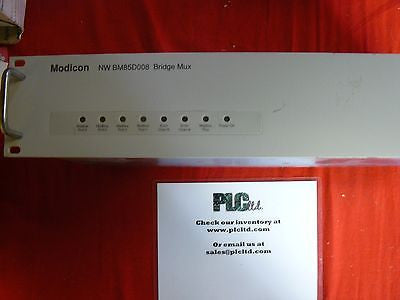 NWBM85D008 Tested Modicon Modbus+ BridgeMux Multiplexer NW-BM85D008