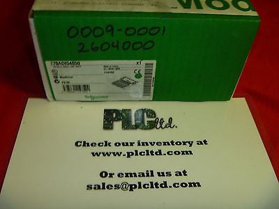 170ADI54050 NEW FACTORY SEALED! Modicon 120 VAC I/O Base 170-ADI-540-50