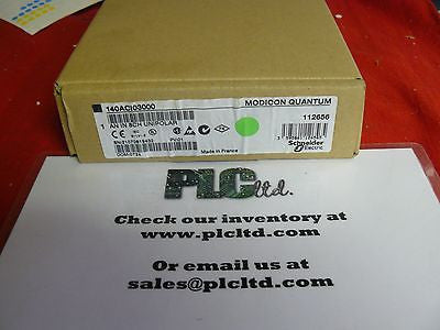 140ACI03000 NEW SEALED Modicon Analog IN 140-ACI-030-00